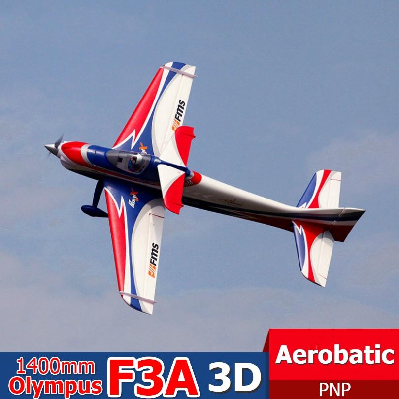 Радиоуправляемый самолет FMS 1400 мм, 1,4 м, F3A, Olympus PNP, прочный, EPO, аэробный, 3D, Большие весы, пульт дистанционного управления, модель самолета Avion