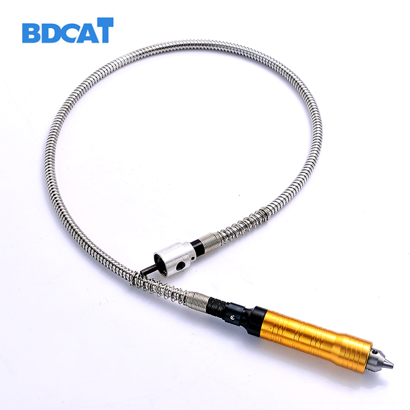 6mm Rotary Grinder Outil Flexible Flex Shaft Convient + 0-6.5mm Pièce À Main Pour Dremel Style Perceuse Électrique Outil rotatif Accessoires