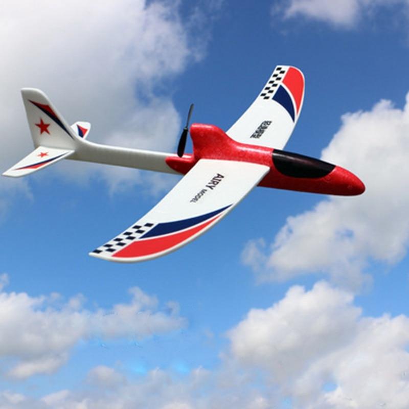 Новые 35 см длинные планер модель электрические игрушки для детей Подарки Diecasts и Игрушки транспортные средства наука развивающие игрушки самолета подарок