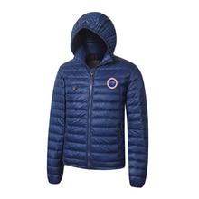 2017 Brand New Mens Light Down jacket Fashion Coat advanced Waterproof Fabric