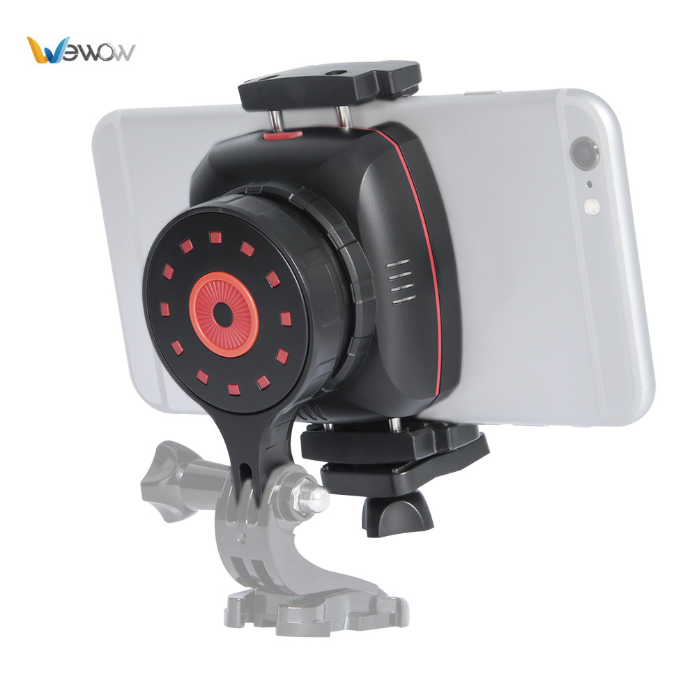 Wewow Sport X1 1 Axis plastic mini gimbal wearable stabilizer for GoPro SJCAM Action Cameras for