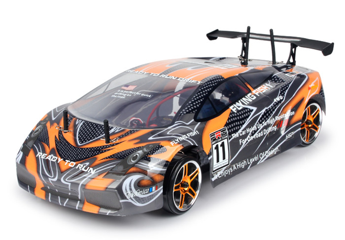 hsp rc car 4wd drift 1 10 scale electric power on road remote control car 94123 flyingfish ready. Black Bedroom Furniture Sets. Home Design Ideas