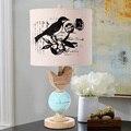 Pássaro lâmpadas país da América retro Europeia pastoral sala de estar quarto lâmpada de cabeceira moda moderna criativo
