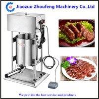 220V 15L Commercial Sausage Stuffer Extruder Filler Machine Sausage Maker