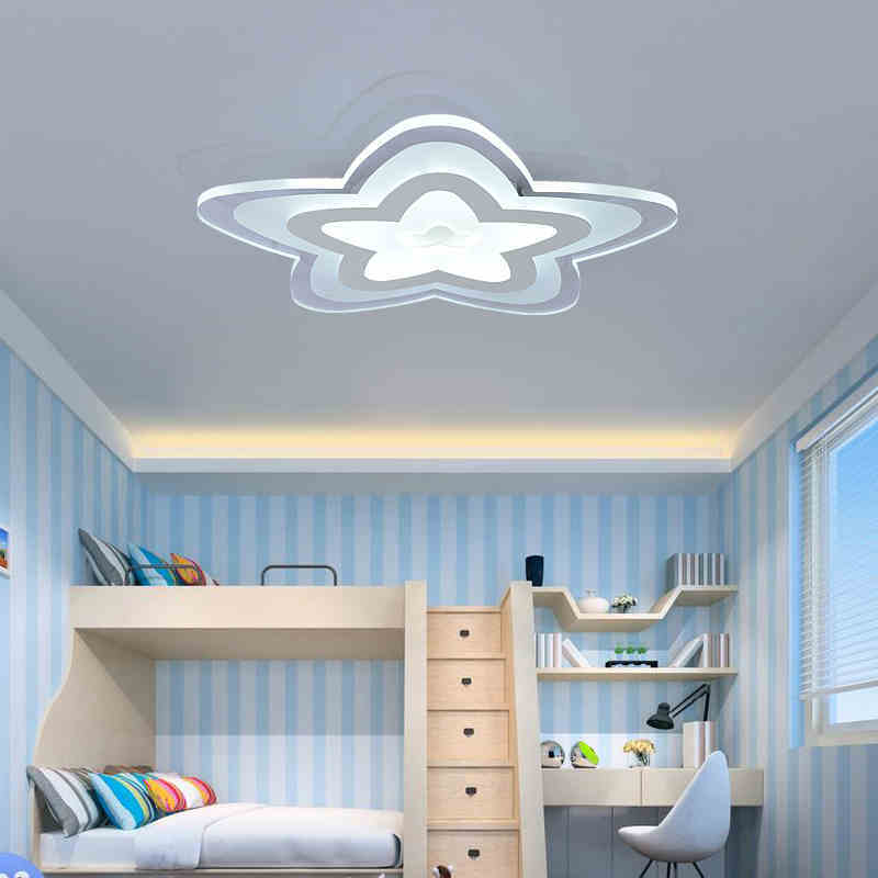 Ultra-thin Acrylic Modern LED Ceiling Lights for Bedroom children room Decorative lampshade Lamparas de techo led Ceiling Lamp 2018 new macaron color led ceiling lights round 5cm ultra thin ceiling lamp for bed children s room led lamp lamparas de tech