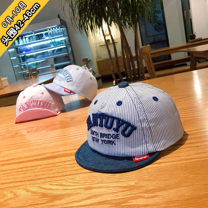0 to 10 month children 39 s hats han edition letter English baby tues cap cap infant shade toddler hat baby hats newborn XA 267 in Hats amp Caps from Mother amp Kids