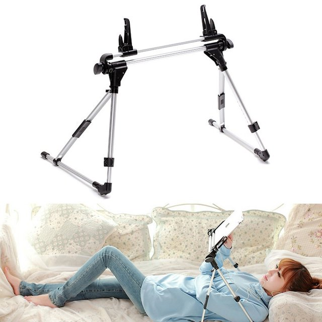 Bloqueo autom tico tablet soporte ajustable piso cama - Soporte tablet cama ...