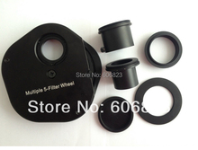 On sale New 1.25″ Inch Fitting Colour Filter Wheel For Telescopes Full Metal