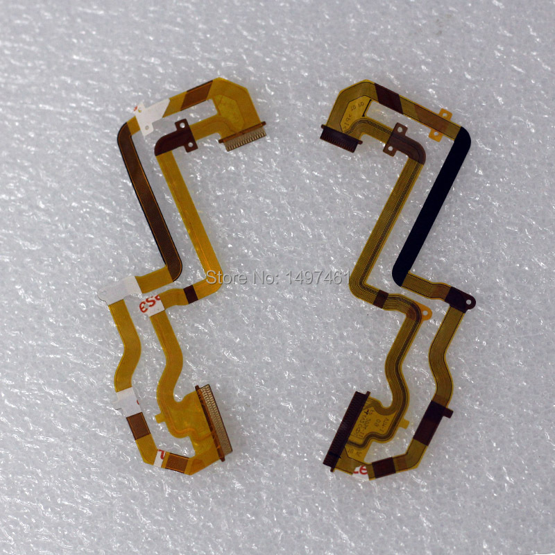 2PCS LCD Hinge Rotate Shaft Flex Cable For Sony HDR-CX220E HDR-CX290E CX220 CX290 Video Camera