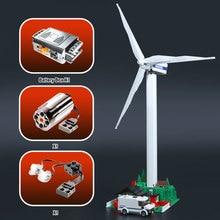 Lepin 37001 Série Criativo A Vestas Turbina do Moinho de vento Set Presentes Modelo Crianças Educacionais Blocos de Construção de Tijolos Brinquedos 4999