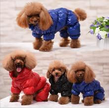 Warm Winter & Waterproof Dog Snowsuit