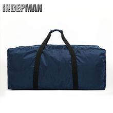 Männer Frauen Seesack Unisex Hochwertige Wasserdichte Nylon Tote Super Licht Duffle Handtasche der Großen Kapazität Falten Trolley Handtasche