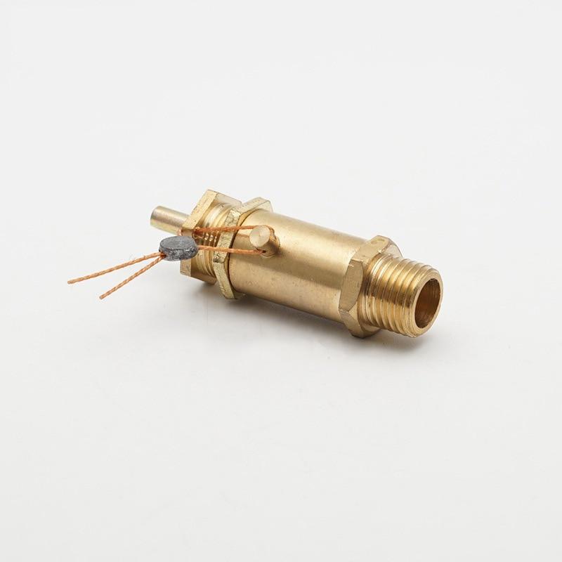1/4 bsp Außengewinde 2 Kg 0.2mpa 29psi Messing Sicherheit Release Ventil Druck Relief Regler Für Luft Kompressor QualitäT Zuerst Ventil