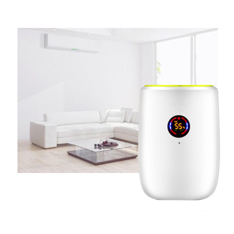 Adoolla Portable Home Electric Air Dehumidifier Dryer for bedroom Basement Moisture Absorbing F42B image