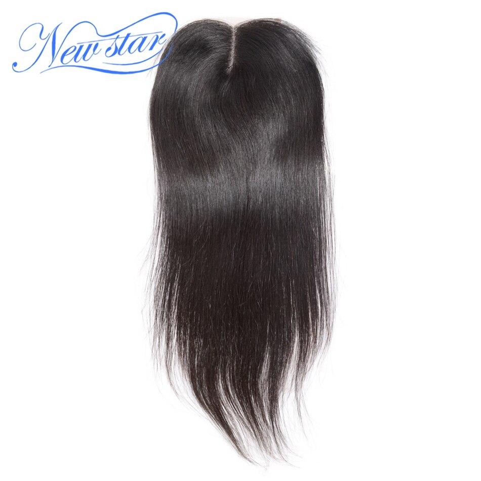 Гуанчжоу new star перуанский прямые волосы кружева средняя часть 4 ''x 4'' Закрытие Natural Цвет натуральная человеческих волос с для Волос