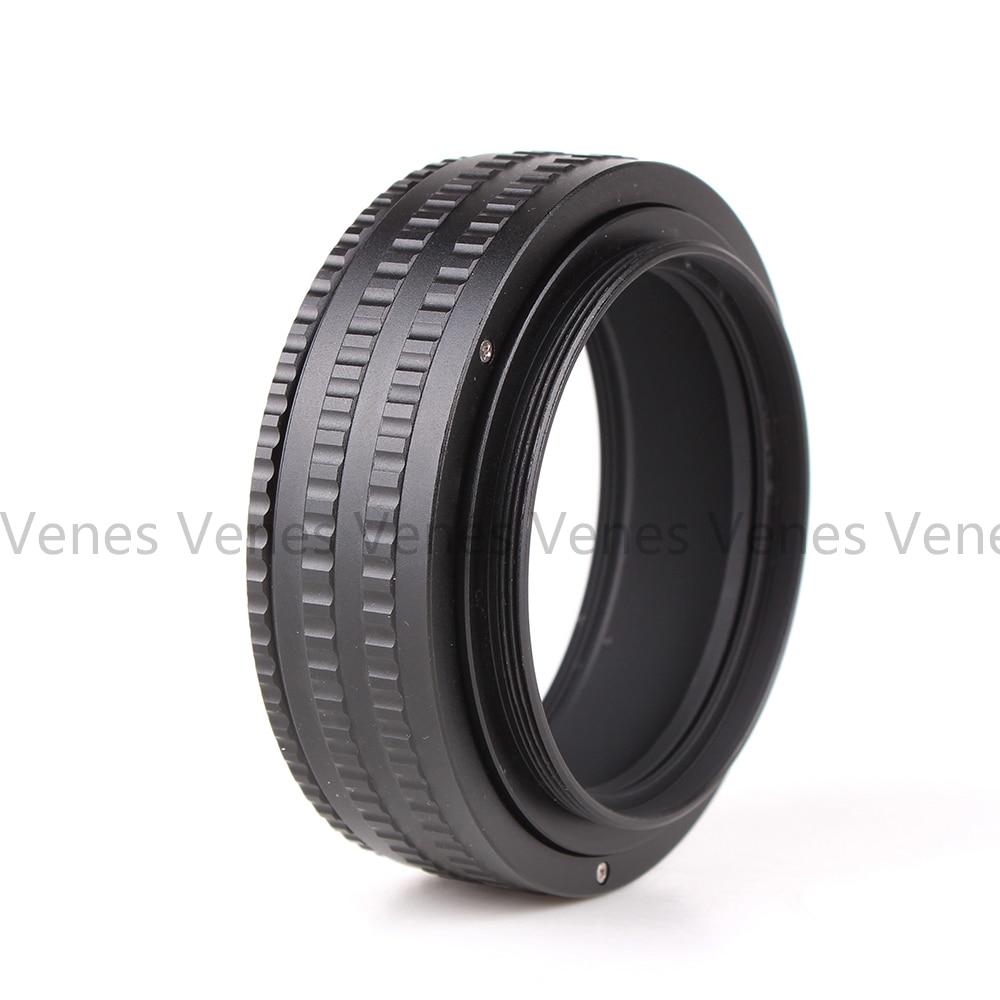 Venes Macro Tube Adapter 25-55mm M65 to M65 მთაზე - კამერა და ფოტო - ფოტო 2