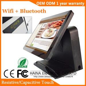 Image 1 - 15 pollici Multi Touch Screen Monitor LCD POS Sistema Pos Registratore di Cassa