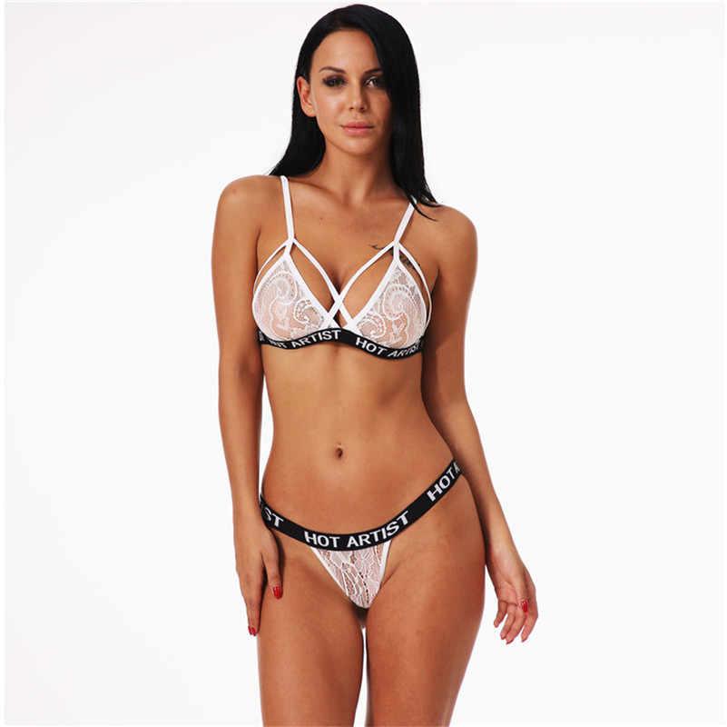 075968e04446 Lanshifei Lencería erótica mujer Bralette xxx Sexy sujetador foto ...