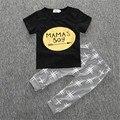 2017 Baby Boy Roupas de Verão Romper Do Bebê Moda Bebê Menino Conjuntos de Roupas Calças T-shirt do Bebê Recém-nascido Roupas Roupas Bebe Infantil
