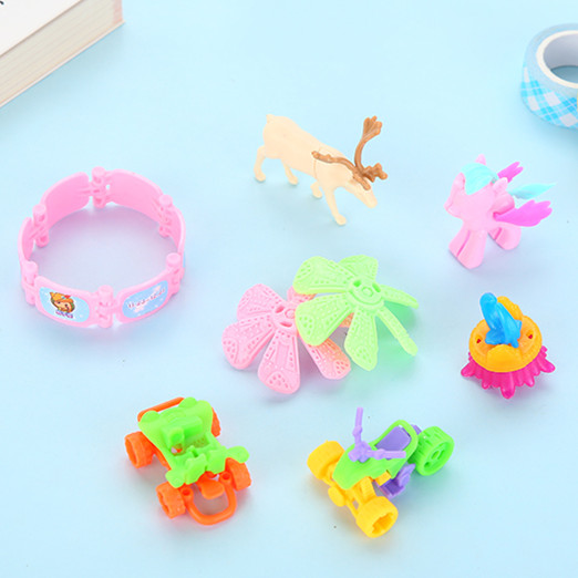 20pcs Diy Model Assembled Toy Kids Birthday Party Gifts Souvenirs