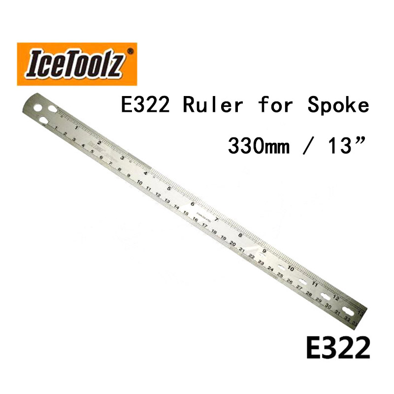 IceTool Bicycle E322 Ruler For Spoke 330 Mm / 13
