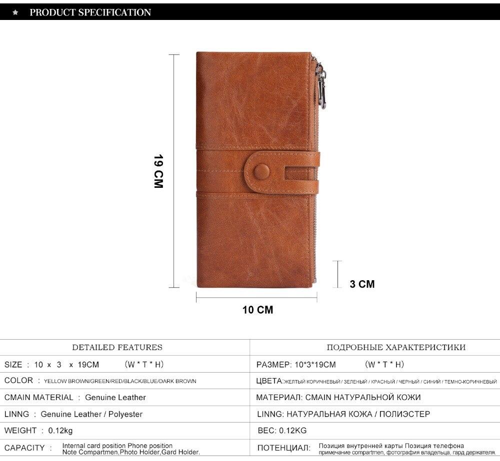 2072--Genuine Leather long Women Wallet-Casual Clutch Wallets_01 (3)