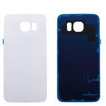 DHL Shipping New high quality Back Housing Glass Battery Door Cover Replacement For Samsung Galaxy S6 G9200 50pcs/lot