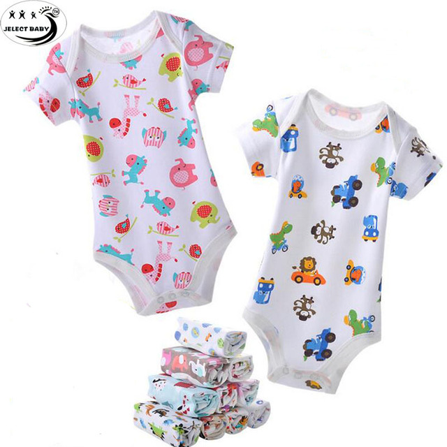 c5c9da21b Baby Bodysuit Floral Print Cotton Baby Short Sleeve Baby Carter Baby Wear  Infant Jumpsuit Toddler Boy Girl Jumpsuits Bebe Roupas