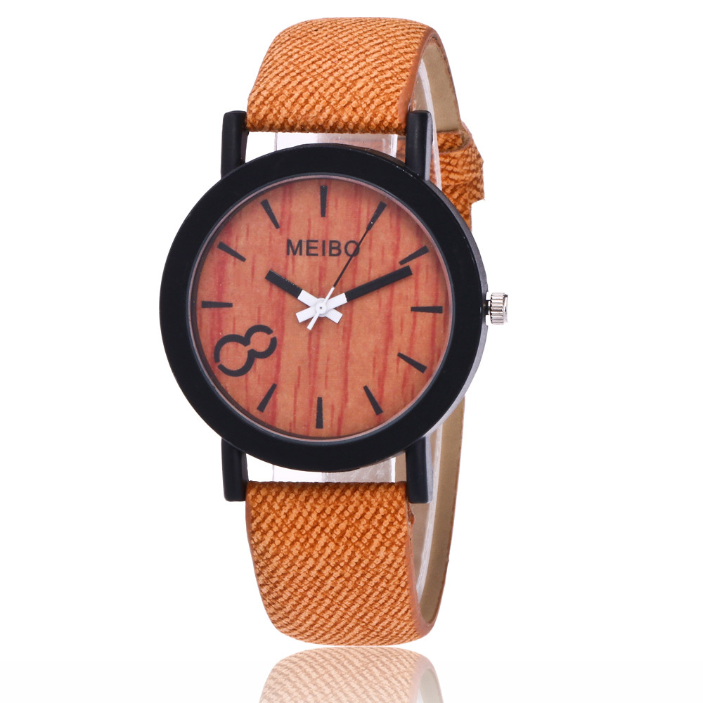 Watch Wooden Modeling Quartz MEIBO Color Hot-Sales Casual New-Arrival