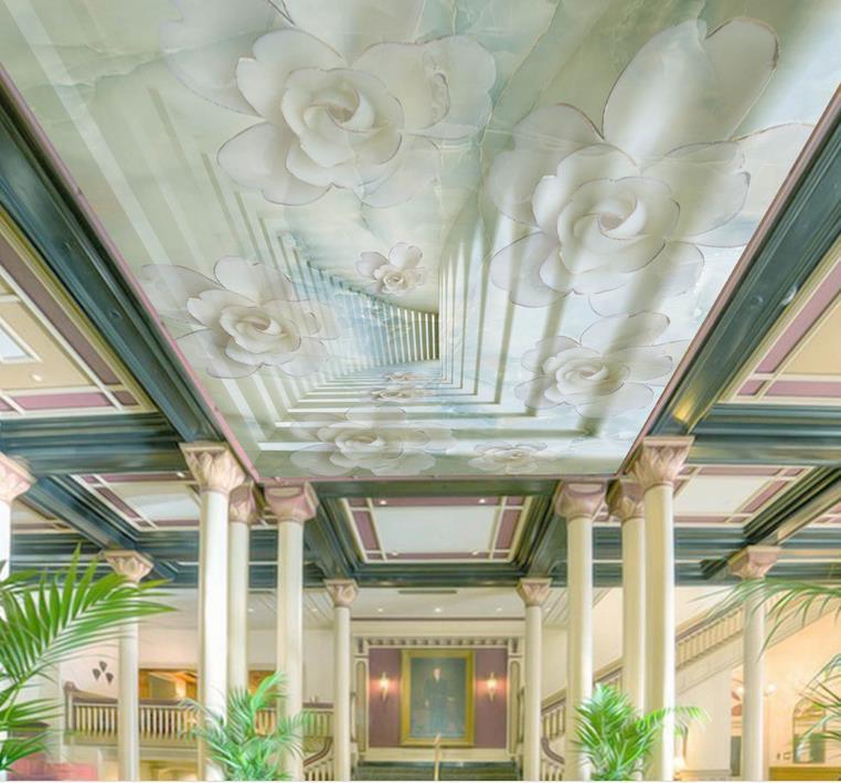 Stunning Foto D Decke Marmor Jade Carving Rose D Decke Tapete Fr Badezimmer  Decke D With Badezimmer Decke
