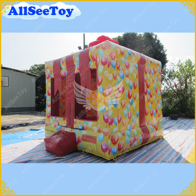 Beautiful Present Box Bouncy Castle Anti-aging PVC Tarpaulin Bounce HouseJumping Castle for Kids & Online Shop Beautiful Present Box Bouncy Castle Anti-aging PVC ...