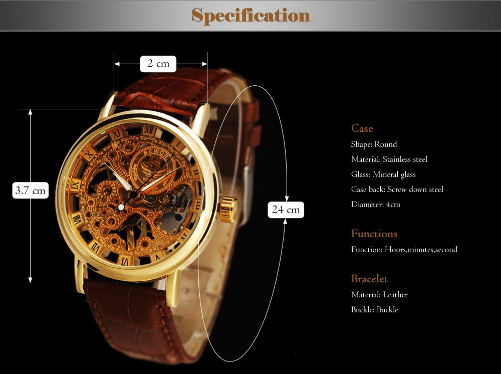 HTB15fRJNVXXXXXoaXXXq6xXFXXX4 - SEWOR Casual Fashion Skeleton Watch for Men