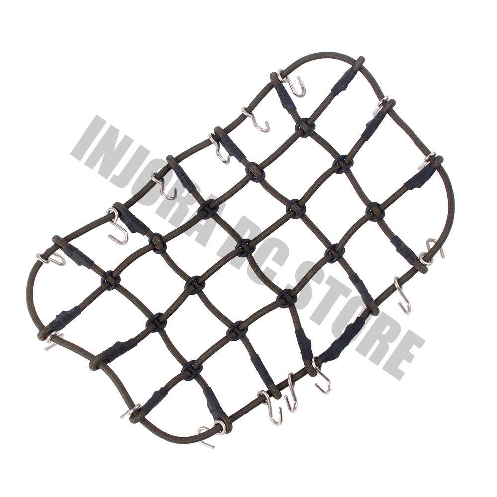 RC Car Accessories 6 Colors Elastic Luggage Net for 1/10 RC Crawler SCX10  90046 Tamiya CC01 D90 Traxxas TRX-4 TRX4