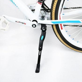 Soporte de aleación de aluminio para el lado de la bicicleta, soporte para el pie para bicicleta de montaña, soporte para el Pie ajustable 32-36cm