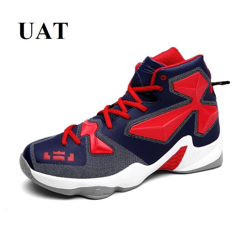 Professionele heren basketbalschoenen hoge top hombre jongens sneakers outdoor sportschoenen voor tieners ademend en comfortabel