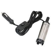 Hot Selling DC 12V Submersible Pump 38mm Water Oil Diesel Fuel Transfer Cigarette Plug