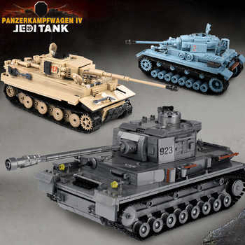 3 Models Construction Tank Building Blocks City Military Weapons Bricks Action Soldier Fighter Educational Toys For Children - DISCOUNT ITEM  42 OFF Toys & Hobbies