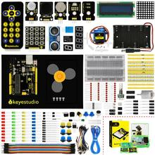 Keyestudio Maker Starter kitlearning kit with UNOR3  For Arduino Education Project+User Manual+1602LCD servo+Chassis+PDFoline
