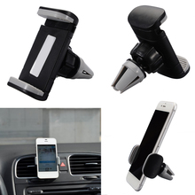 Universal Car Air Vent Mount Stand Holder GPS Bracket For Cellphone Black Air Vent Mount Car Holder Phone Stand For Huawei MAte car swivel air vent mount holder for htc desire s g7s g12 black