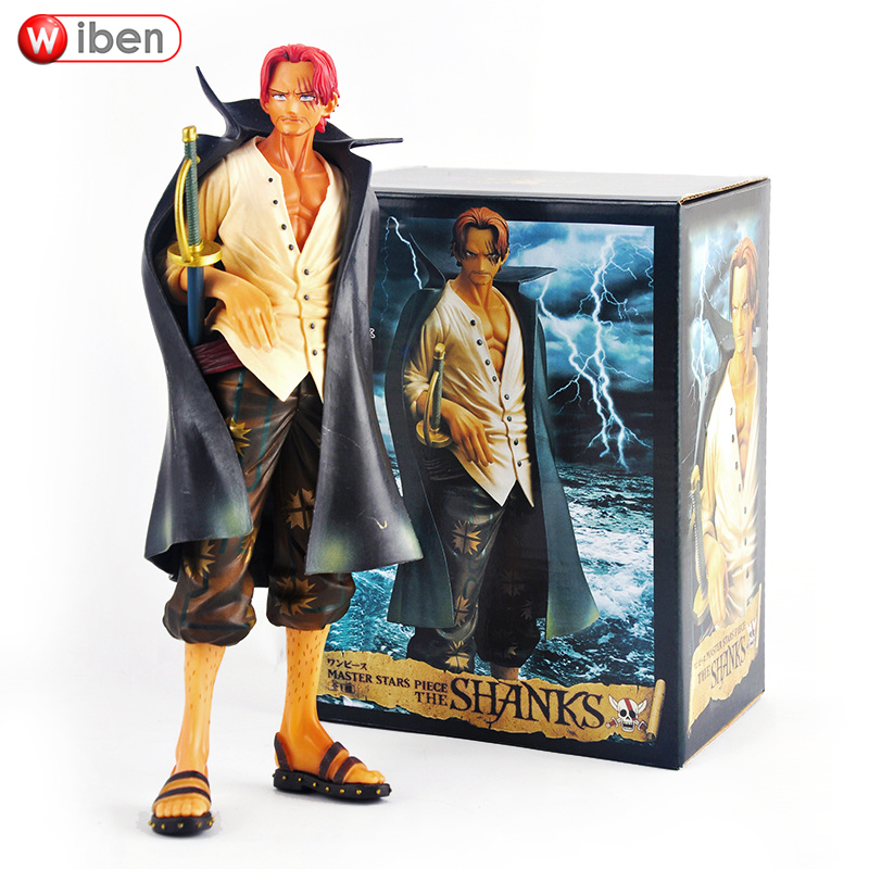 2017 One Piece Action Model Anime PVC Children Cartoon Collectibles Toy Gift Akakami No Shankusu Figure Red Hair Shanks веб камера a4 pk 635e usb 2 0