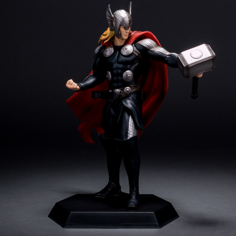 Super Hero The Thor PVC Action Figure Collectible Model Toy Action Figure 2set/lot 23cm 26cm crazy toys 16th super hero wolverine pvc action figure collectible model toy christmas gift halloween gift