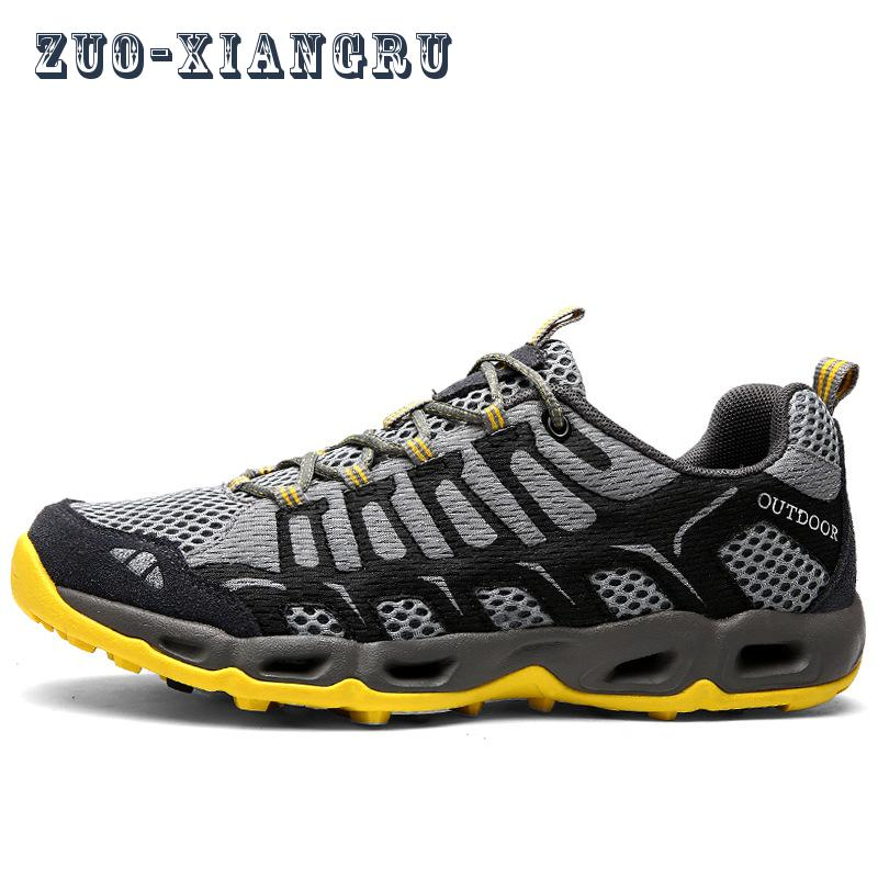ФОТО 2017 New Man/woman Outdoor Running Shoes Lightweight Mesh Breathable Sneakers Lovers Net Cloth Sport Shoes Male/female Trainers