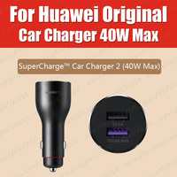 CP37 36g 5A Cable Original HUAWEI SuperCharge Car Charger 40W 2 USB 10V4A 40W 5V4A 20W 9V2A 18W 5V2A 10W