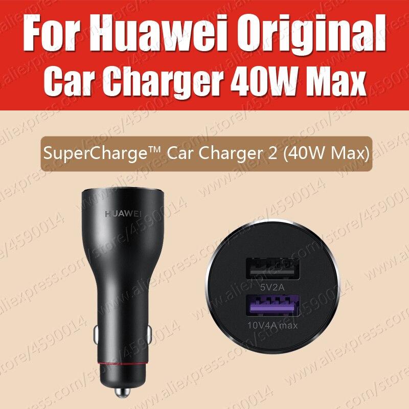 Cp37 36g 5a cabo original huawei supercharge carregador de carro 40 w 2 usb companheiro 30 pro p30 pro companheiro 20 pro x