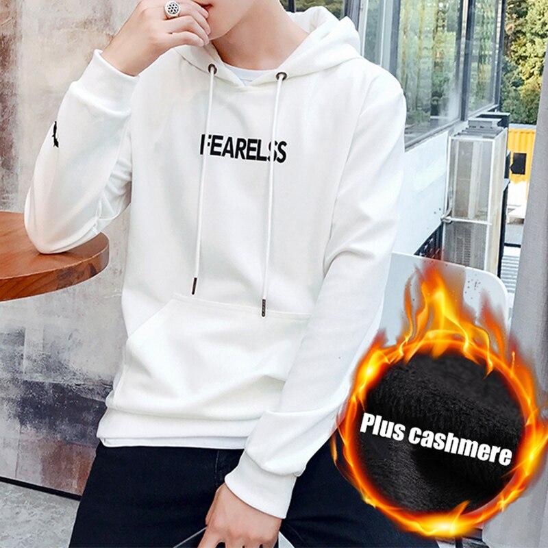Sweat à capuche pour homme/femme sweat à capuche 2017 nouvelle marque vêtements casquette à capuche imprimé noir blanc veste Plus cachemire Hip Hop Hoddies 4XL - 5
