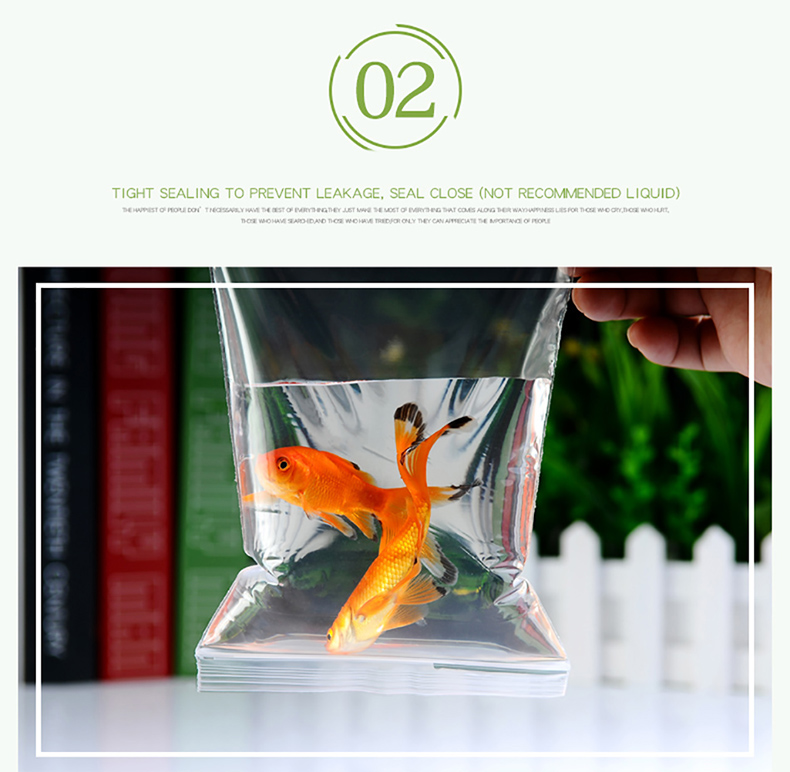 1 Transparent,Ziplock bag,Reseal,Zipper,Bulging ed edge,line,package,Store,Home,Office,food,magazine,Powder,granules.Dried fruit,tea,seasoning,whole grains,casual  (7)