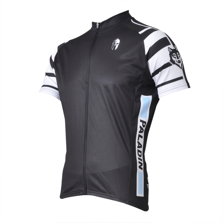 MARTIN  Black / White Stripes  Mens top Sleeve Cycling Jersey Bike Shirt Cycling Clothing Bicycle Wear ILPALADIN 2016 new men s cycling jerseys top sleeve blue and white waves bicycle shirt white bike top breathable cycling top ilpaladin