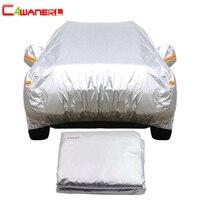 Cawanerl Car Cover Auto Sedan Hatchback Sun Rain Snow Protection Outdoor Cover Sunshade Anti UV Scratch Dust Proof Universal