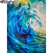 DIAPAI 5D DIY Diamond Painting 100% Full Square/Round Drill Horse oil painting Diamond Embroidery Cross Stitch 3D Decor A22087 diapai diamond painting 5d diy 100