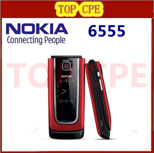 Refurbished 6555 Unlocked Original Nokia 6555 Cell Phone Wholesale One Year Warranty Free Shipping In STOCK